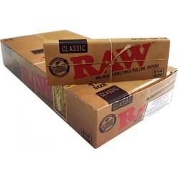 RAW Organic Single Wide Papir