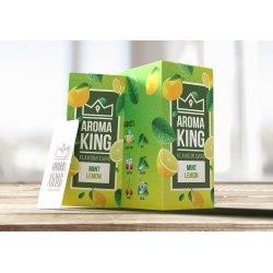 Aroma King Smags Kort Mint Lemon