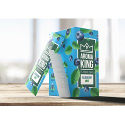 Aroma King Smags Kort  Blueberry Mint