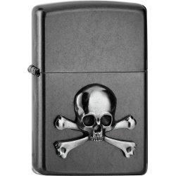 "Org.ZIPPO Gery Dusk Emblem ""Skull & Bones"""