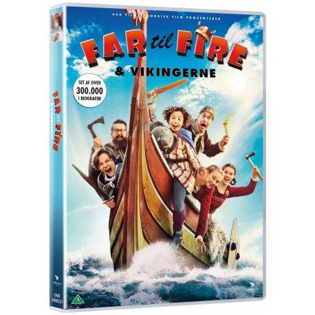 Far Til Fire Og Vikingerne - DVD