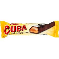 Cuba Bar Mørk m. Rom / Karamel  40 gr