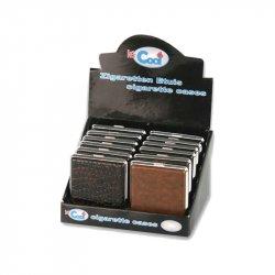 Cigaret Box Læder Look