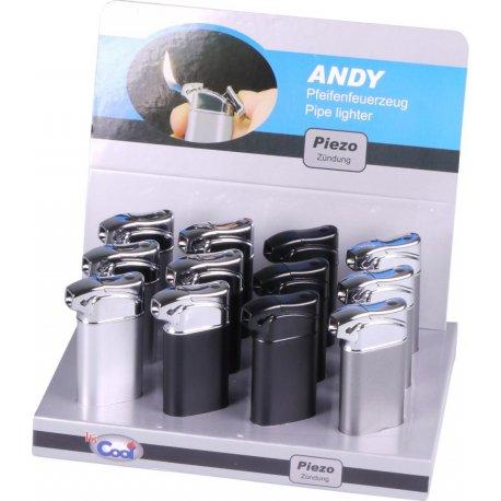 "COOL Pibe Lighter ""Andy"" assorterede Piezo"