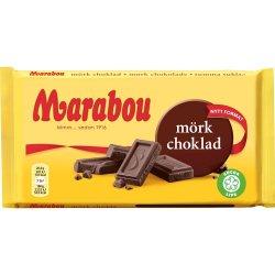 Marabou Mørk Choko 44% 185 gr