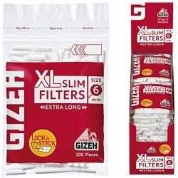 GIZEH XL-filtre - Langt slankt filter 100 stk