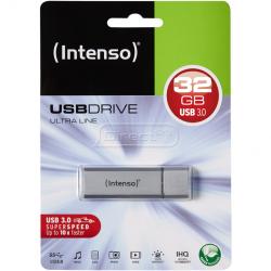 Intenso Ultra Line USB flashdrive, 32 GB 3.0, sølv