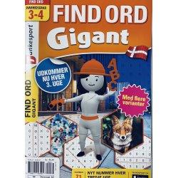Find Ord Gigant