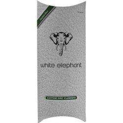 White Elephant Piperenser  Hvid Konisk 17,5 cm, 100 stk