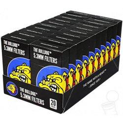 Bulldog-Filtre i Kasse Sort - Ultra Slim