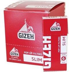 GIZEH-Filtre  Slank i Cellofan