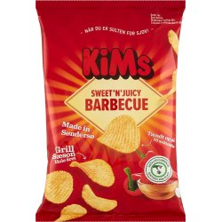 Kims Barbecue Chips 170 gr