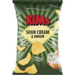 Kims Sour Cream & Onion 170 gr