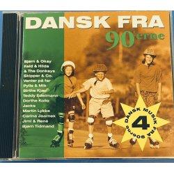 Dansk Fra 90erne Nr 4 cd
