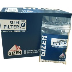 GIZEH Filtre - Carbon Slim 6 mm