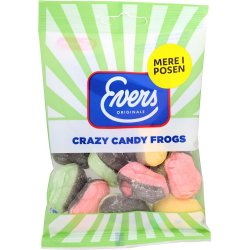 Evers Crazy Candy Frogs 110 gr