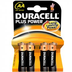 Duracell AA Lille 1,5V 4 pk
