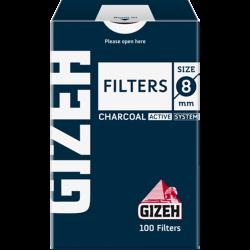 GIZEH-filtre - Carbon Regular 8 mm