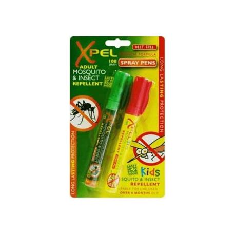 Xpel Myggepen Til Børn & Voksne - 2 stk