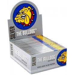 Bulldog Papers - Sølv - King Size Slim