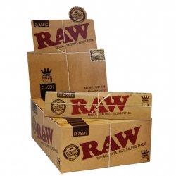 RAW Papers - Organisk Hamp  King Size Slim Med Tzivana 24stk