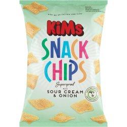 Kims Snack Chips SC & O 160 gr