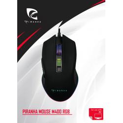 Piranha Mouse M400 Rgb