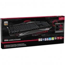 Speedlink lOVIA Gaming  Tastatur  (nordisk layout)