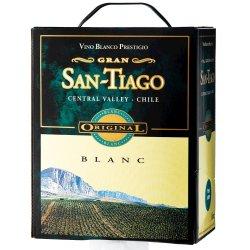 San-Tiago Blanc Hvid 3 ltr  12,5 %