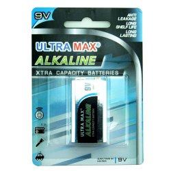 Ultra MAX Alkaline Batteri 9V