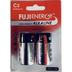 Batteri Fuji Alkaline  C2  LR14/1,5 v 2-pk