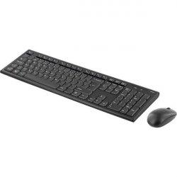 Trådløst Tastatur og Mus - 3 knapper Med Scroll