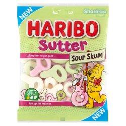 Haribo Sutter Skum Sour 100 gr