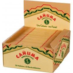 CANUMA King Size Bambus Cigaretpapir Slank