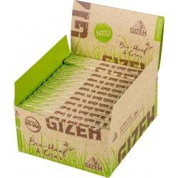 GIZEH Hamp + Græs King Size Slank + Filterspidser