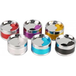 Askebæger Metal Aluminium Design Assorteret Farver  9cm
