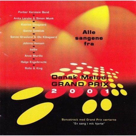 Dansk Melodi Grand Prix 2001