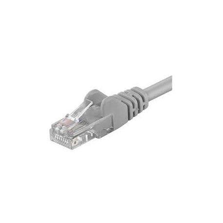 Cat 5e U/UTP Netværkskabel - Grå - 3 m