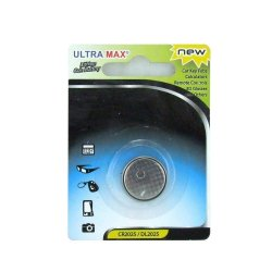 Ultra MAX Lithium Batteri CR2025 1 stk