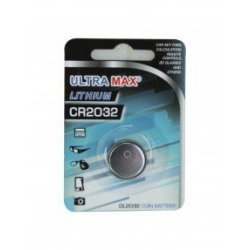 Ultra MAX Lithium Batteri CR2032   1 stk