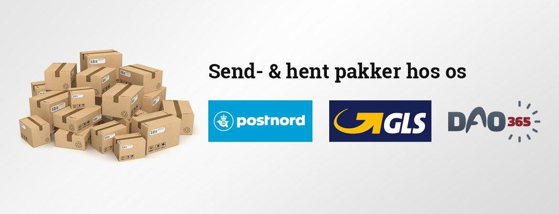 Send og hent pakker i Rødbyhavn